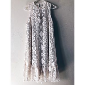 Anthropologie Floreat Cocktail Dress MidLength NWT
